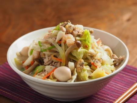 野菜特盛り海鮮ちゃんぽん23