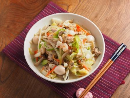 野菜特盛り海鮮ちゃんぽん27