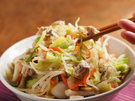 野菜特盛り海鮮ちゃんぽん34