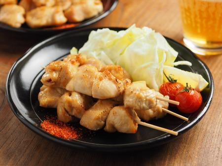 鶏むね肉のトースター焼き鳥28
