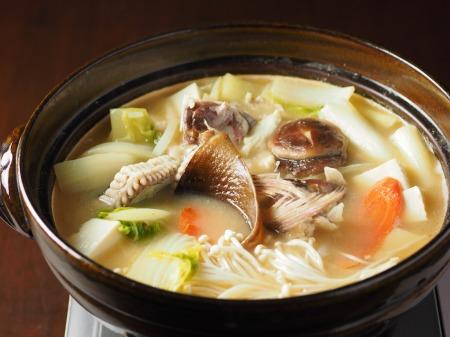 鯛とさざえの刺身、海鮮味噌49