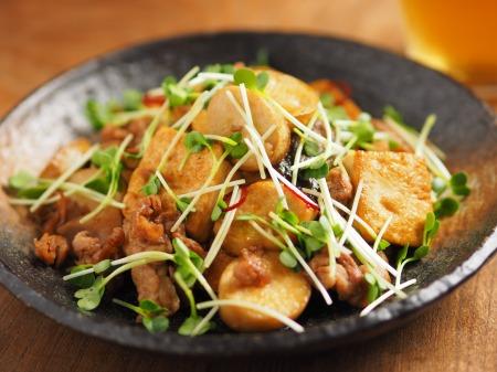 エリンギと豆腐のオイスターソー33