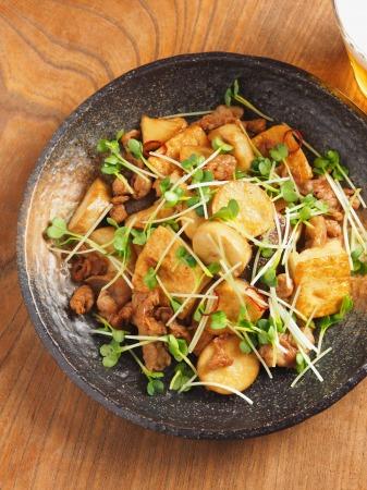 エリンギと豆腐のオイスターソー28