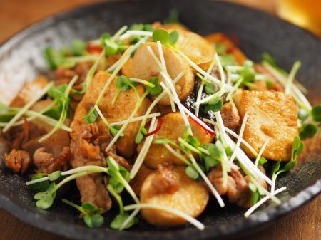 エリンギと豆腐のオイスターソー34