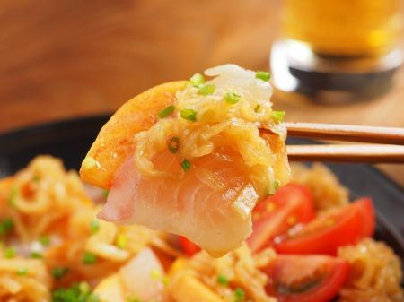 鯛と牡蠣の和風カルパッチョ31