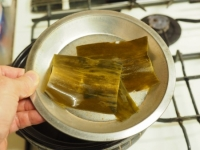 豆腐と水菜のみぞれ鍋22