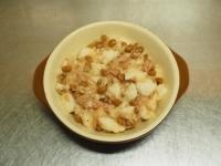 たたき長芋と納豆のグラタン08