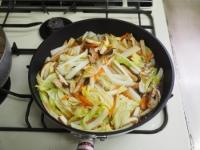煮込み白菜のあんかけ蕎麦12