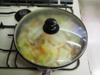 煮込み白菜のあんかけ蕎麦13