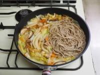 煮込み白菜のあんかけ蕎麦15