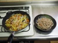 煮込み白菜のあんかけ蕎麦16