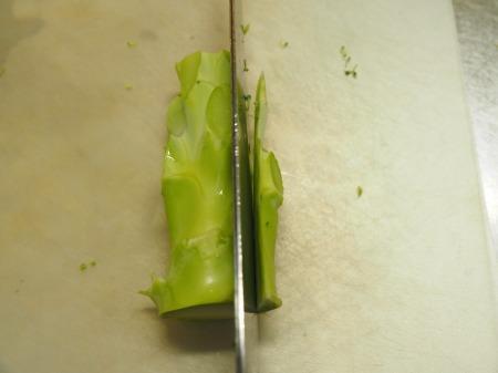 ブロッコリーのキンピラ炒め06