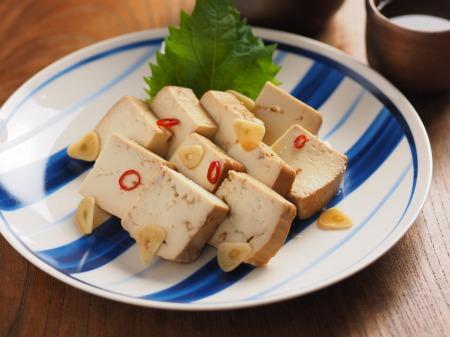 豆腐の麺つゆ漬け22