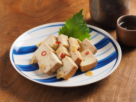 豆腐の麺つゆ漬け16