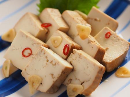 豆腐の麺つゆ漬け21