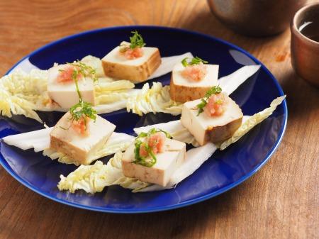 豆腐の麺つゆ漬け23