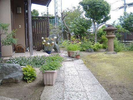 切断ごの庭20160614