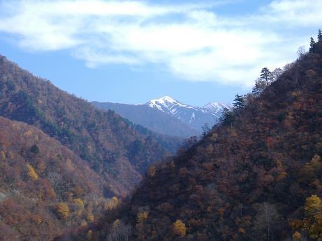 ダムから北俣岳20161114
