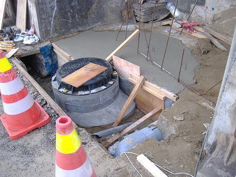 下水工事階段下20161212