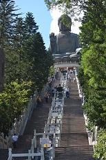 大佛に向かう階段(S)
