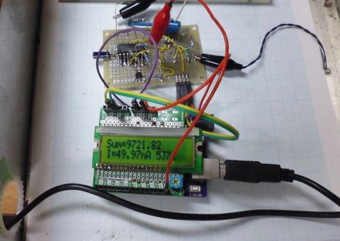 積算電流計の実験2