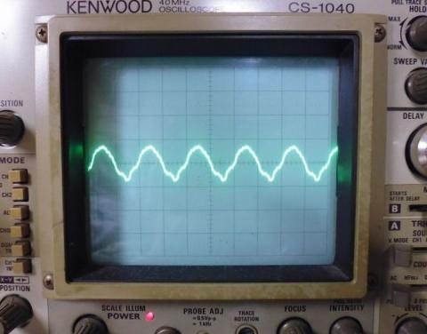 5MHz正弦波