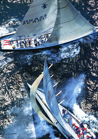 Mighty Mary vs Stars&Stripes America's Cup 1995