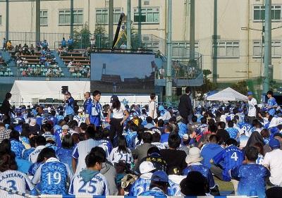 横浜DeNAvs広島戦パブリックビューイング2