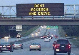 Don't Pokemon and Drive.