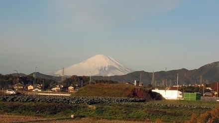 2016年11月25日富士山