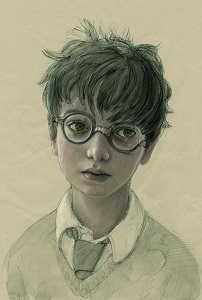 Potter illustration by Jim Kay
