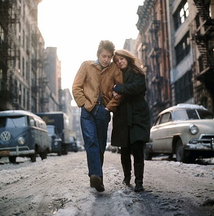 The Freewheelin' Bob Dylan 別テイク写真