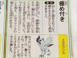 読売新聞 アブソル メガアブソル 記事3