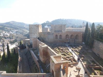 要塞から見る遺構 2016 3・25