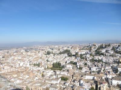 要塞から見るアルバイシン地区⑤ 2016 3・25