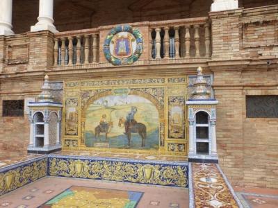 スペイン広場装飾② 2016 3・26