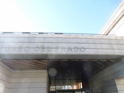 プラド美術館入口⑤ 2016 3・27