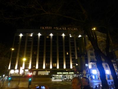 マドリードホテル夜 2016 3・28