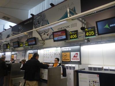 マドリード空港 2016 3・28