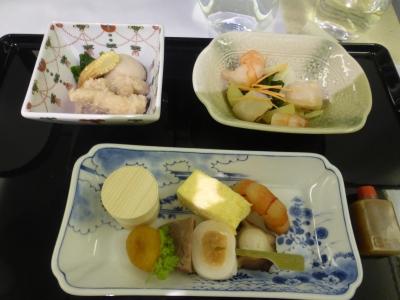 飛行機 食事② 2016 3・29