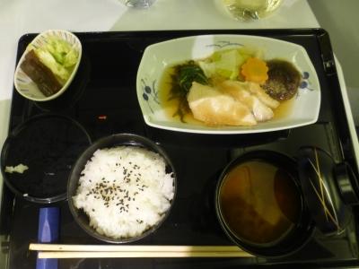 飛行機 食事③ 2016 3・29