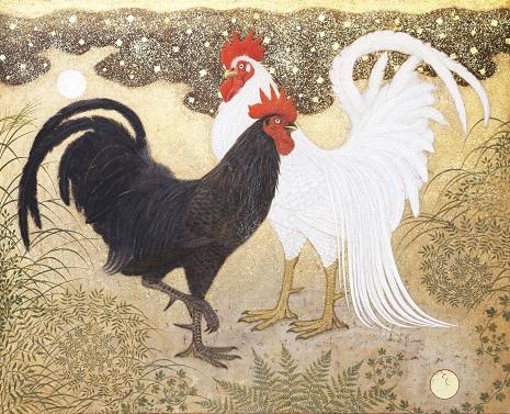 白鶏黒鶏1c