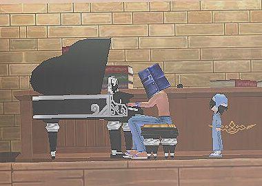 バケツ男と座敷童