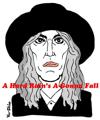 Patti Smith caricature