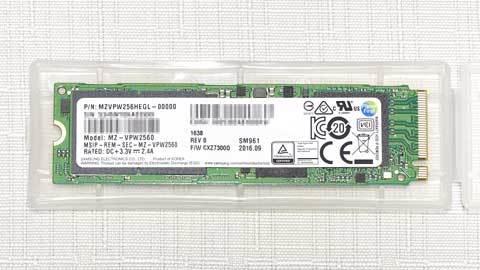 Samsung SM961 MZVPW256HEGL-00000