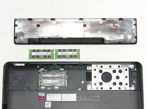 【N552VX】メモリ換装と2.5