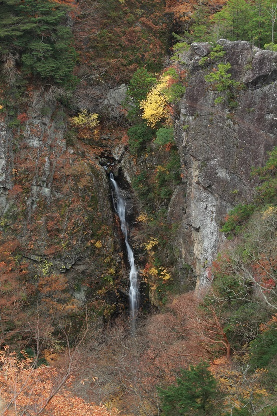 鳥渡谷、大鯛滝、1