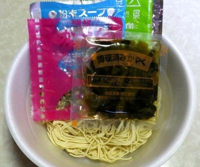 10/24発売 明星 バリカタDX 高菜とんこつ(内容物)