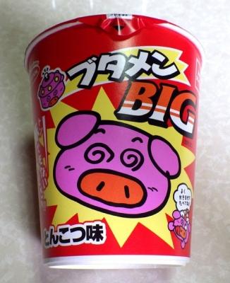 6/21発売 ブタメン BIG とんこつ