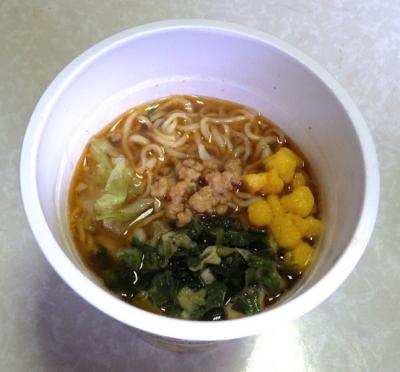 カップヌードル ミンスドポーク味(タイ版)(できあがり)